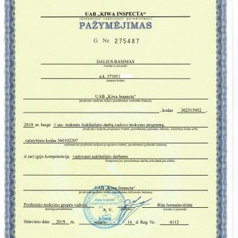 Atestuotų elektrikų paslaugos. Elektros ūkio priežiūra. / MB Eldara / Darbų pavyzdys ID 661249