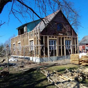 Senu mediniu namu renovacija,rekonstrukcija / Aivaras / Darbų pavyzdys ID 661403