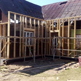 Senu mediniu namu renovacija,rekonstrukcija / Aivaras / Darbų pavyzdys ID 661405
