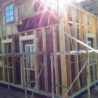 Senu mediniu namu renovacija,rekonstrukcija / Aivaras / Darbų pavyzdys ID 661409
