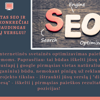 SEO paslaugos už konkurencingą atlygį / Edita Šlakaitienė / Darbų pavyzdys ID 661429
