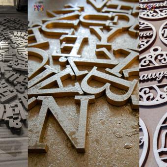 Gaminių dizainas, pjaustymas lazeriu, CNC frezavimas, / MB Novies decenas / Darbų pavyzdys ID 661431