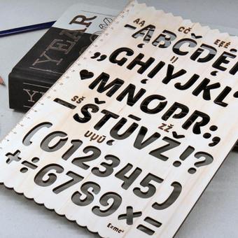 Gaminių dizainas, pjaustymas lazeriu, CNC frezavimas, / MB Novies decenas / Darbų pavyzdys ID 661457