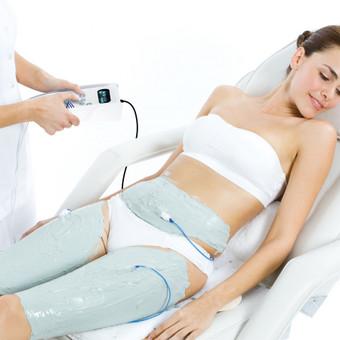 """IONITHERMIE"" - liekninamoji, stangrinamoji procedūra kūnui."