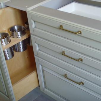 """Virtuvės baldai. Vonios baldai. Akmuo. UAB """"Forestė"""" / Dizainerė Audronė Baldai-Interjeras / Darbų pavyzdys ID 663073"""