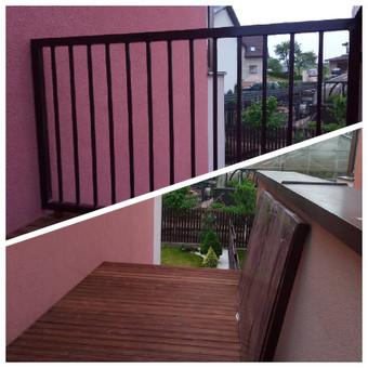 Apsauginių turėklų montavimas Jūsų terasoje