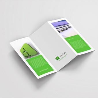 Maketuojame atsižvelgdami į jūsų firminį stilių, spalvinę gamą ir t.t.