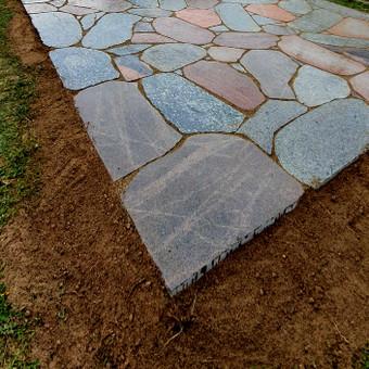 Akmens mūro darbai, Šlaitų ir pakrančių tvirtinimas,Gabion / Saulius / Darbų pavyzdys ID 665319