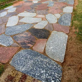 Akmens mūro darbai, Šlaitų ir pakrančių tvirtinimas,Gabion / Saulius / Darbų pavyzdys ID 665321