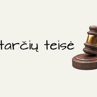Teisininkė Neringa Vaišvilaitė / Teisininkė Neringa Vaišvilaitė / Darbų pavyzdys ID 670005
