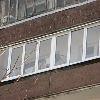Balkonu, terasu, pavesiniu stiklinimas, plastikiniai langai / Valkoras / Darbų pavyzdys ID 670439