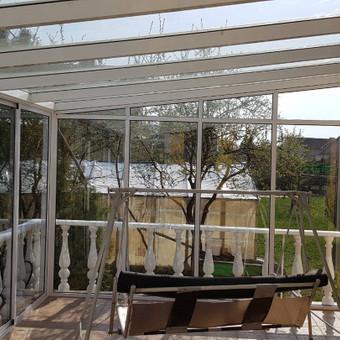 Balkonu, terasu, pavesiniu stiklinimas, plastikiniai langai / Valkoras / Darbų pavyzdys ID 670449