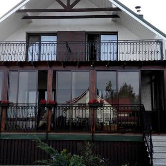 Balkonu, terasu, pavesiniu stiklinimas, plastikiniai langai / Valkoras / Darbų pavyzdys ID 670453