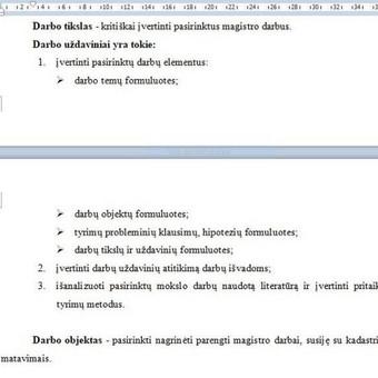 Darbų taisymas, referavimas,mokslinių šaltinių paieška / Akademinės /rašymo paslaugos / Darbų pavyzdys ID 671405