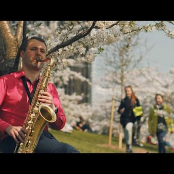 Saksofonistas Juozas Kuraitis Jūsų šventei !!! / Juozas Kuraitis / Darbų pavyzdys ID 671691