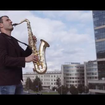 Saksofonistas Juozas Kuraitis Jūsų šventei !!! / Juozas Kuraitis / Darbų pavyzdys ID 671707