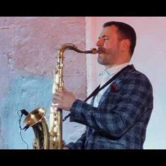 Saksofonistas Juozas Kuraitis Jūsų šventei !!! / Juozas Kuraitis / Darbų pavyzdys ID 671713