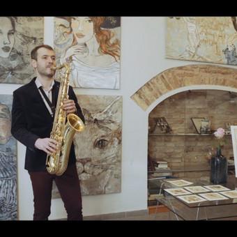 Saksofonistas Juozas Kuraitis Jūsų šventei !!! / Juozas Kuraitis / Darbų pavyzdys ID 671719