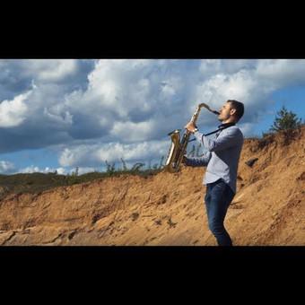 Saksofonistas Juozas Kuraitis Jūsų šventei !!! / Juozas Kuraitis / Darbų pavyzdys ID 671721