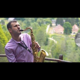 Saksofonistas Juozas Kuraitis Jūsų šventei !!! / Juozas Kuraitis / Darbų pavyzdys ID 671735