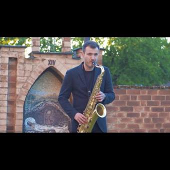 Saksofonistas Juozas Kuraitis Jūsų šventei !!! / Juozas Kuraitis / Darbų pavyzdys ID 671745