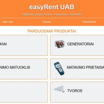 El. svetainės, el. parduotuvės, verslo valdymo sistemos / UAB WIZEN / Darbų pavyzdys ID 673143