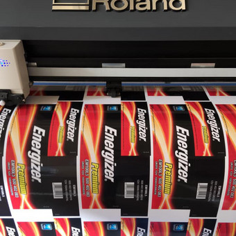 Printed - virš 10 metų patirtis reklamos gamyboje / Printed / Darbų pavyzdys ID 673507