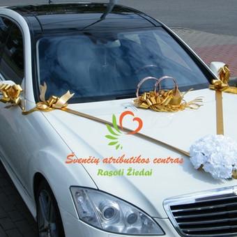 Automobilių, limuzinų puošimas, papuošimų ir kaspinų gamyba ir pardavimas internetu rasotiziedai tinklapyje