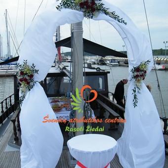 Arkos nuoma, dekoravimas, visa vestuvių atributika rasotiziedai e-parduotuvėje, prekes pristatome visoje Lietuvoje per 3-is darbo dienas