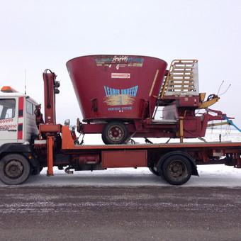 Technikos - krovinių pervežimai / Hempa Transportas / Darbų pavyzdys ID 87857