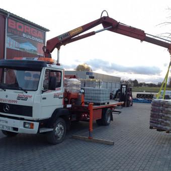 Technikos - krovinių pervežimai / Hempa Transportas / Darbų pavyzdys ID 87858