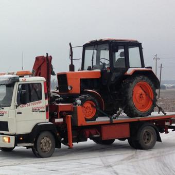 Technikos - krovinių pervežimai / Hempa Transportas / Darbų pavyzdys ID 87862