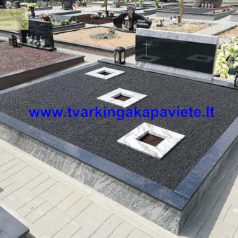Kapų tvarkymas, paminklų gamyba, granito plokštės kapams / Artur Osipovič / Darbų pavyzdys ID 677831