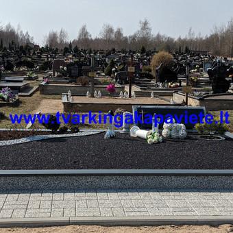 Kapų tvarkymas, paminklų gamyba, granito plokštės kapams / Artur Osipovič / Darbų pavyzdys ID 677827