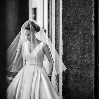 Individualus vestuvinių suknelių siuvimas / MJ Bridal Couture / Darbų pavyzdys ID 678609