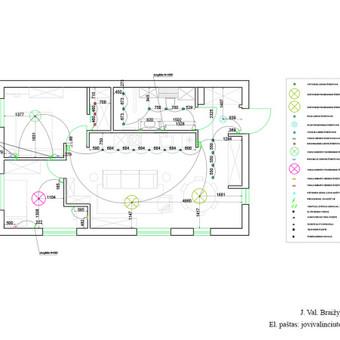 Apšvietimas ir jungtukai