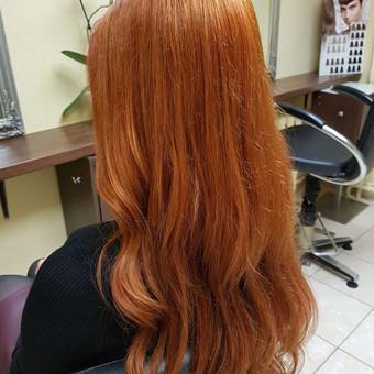 Modeliniai kirpimai, plaukų dažymas, ilgal.plaukų tiesinimas / Grožio Salonas/Kirpykla / Darbų pavyzdys ID 686597