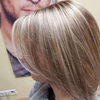 Modeliniai kirpimai, plaukų dažymas, ilgal.plaukų tiesinimas / Grožio Salonas/Kirpykla / Darbų pavyzdys ID 686605