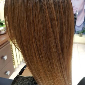Modeliniai kirpimai, plaukų dažymas, ilgal.plaukų tiesinimas / Grožio Salonas/Kirpykla / Darbų pavyzdys ID 686611