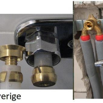 Santechnikas - uzsenyje, ir Lietuvoje ,rørlegger - rörmokare / vvs  santechnikas / Darbų pavyzdys ID 688227