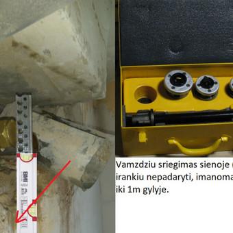 Santechnikas - uzsenyje, ir Lietuvoje ,rørlegger - rörmokare / vvs  santechnikas / Darbų pavyzdys ID 688297