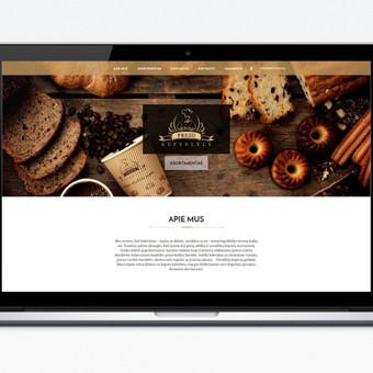 Interneto svetainių dizaineris / Algirdas Baležentis / Darbų pavyzdys ID 88935