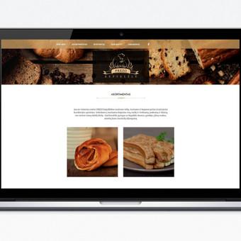 Interneto svetainių dizaineris / Algirdas Baležentis / Darbų pavyzdys ID 88936