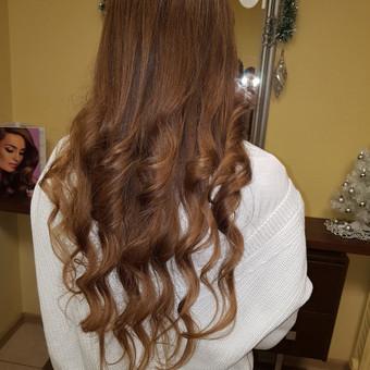 Modeliniai kirpimai, plaukų dažymas, ilgal.plaukų tiesinimas / Grožio Salonas/Kirpykla / Darbų pavyzdys ID 689265