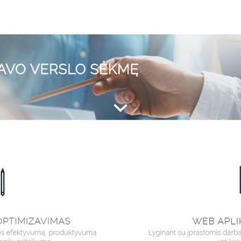 #1 SEO Paslaugos Verslui   Tapk Matomu Paieškos Sistemose / Aivaras Jocys / Darbų pavyzdys ID 690343