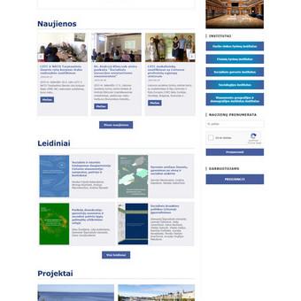 Šiuolaikiškos interneto svetainės / Andrius Mankauskas / Darbų pavyzdys ID 690821
