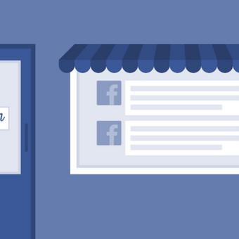 Facebook puslapio sukūrimas.