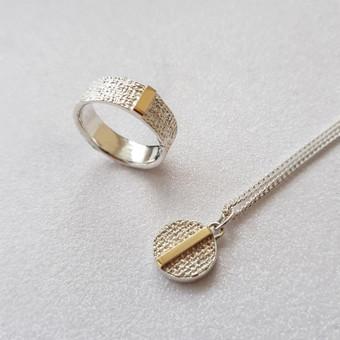 moov jewelry papuošalai iš sidabro, aukso / Vlada D. / Darbų pavyzdys ID 693451