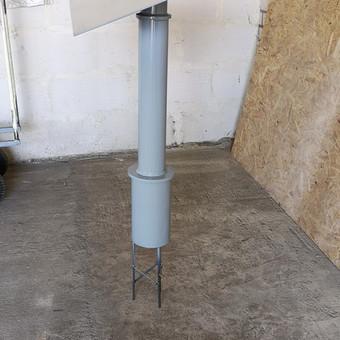 Metaliniai-mediniai hamakų stovai/laikikliai, ir kiti metalo / Giedrius / Darbų pavyzdys ID 695839