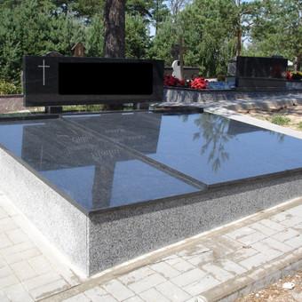 Kapų tvarkymas, dengimas granito plokštėmis, Paminklai / Paulius Latvys / Darbų pavyzdys ID 89699